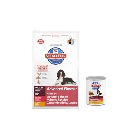 Hill's Science Plan Canine Adult Advanced Fitness Pollo